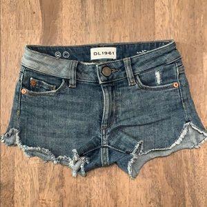 DL1961 Denim Cut Off Shorts